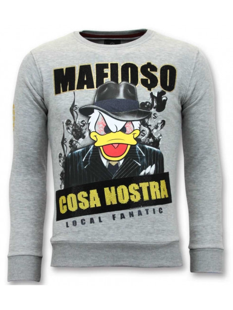 Local Fanatic Sweater cosa nostra mafioso 11-6381G large