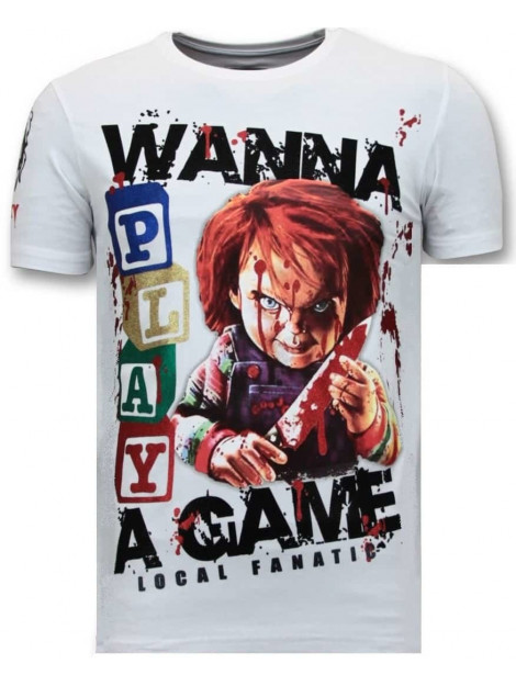 Local Fanatic T-shirt chucky childs play 11-6365W large