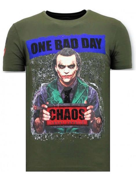 Local Fanatic T-shirt the joker man 11-6363G large