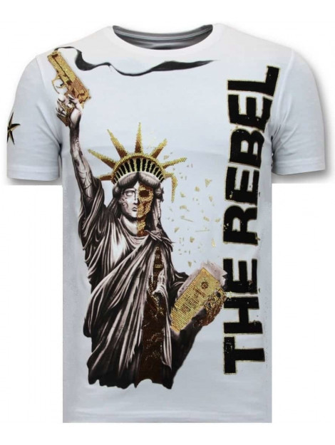 Local Fanatic T-shirt the rebel 11-6387W large
