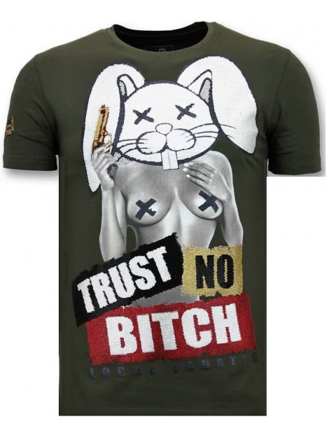 Local Fanatic T-shirt trust no bitch 11-6383G large