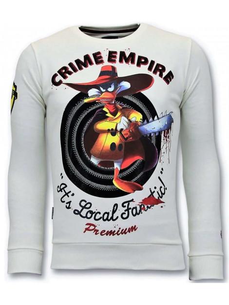Local Fanatic Sweater crime empire 11-6394W large
