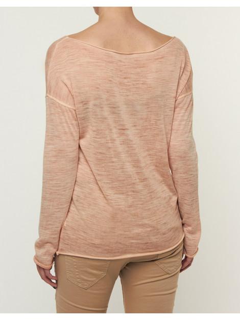 Please T-shirt summer longsleeve antique peach M3816038-Antique Peach large