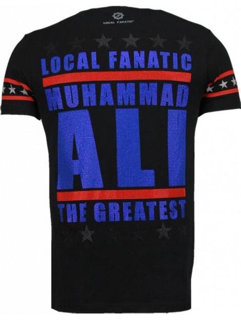 Local Fanatic Muhammad ali rhinestone t-shirt 5091Z large
