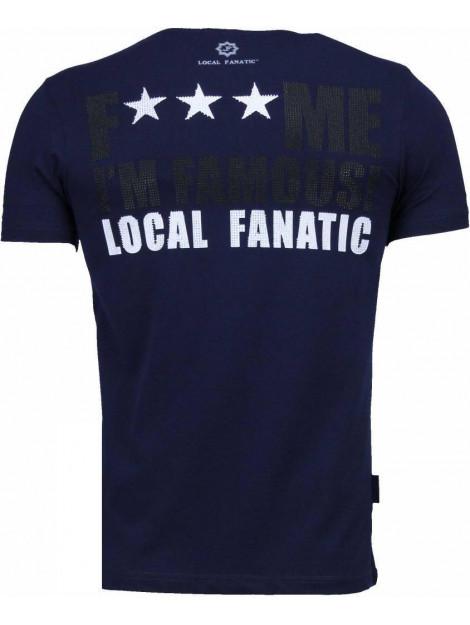 Local Fanatic Kim kardashian rhinestone t-shirt 4779NB large