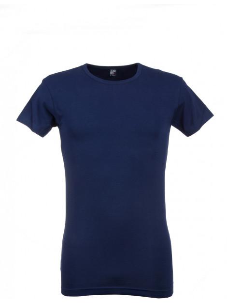Alan Red Heren t-shirt ottawa blauw ronde hals slim fit 2-pack AL.6680.2.M3-M large
