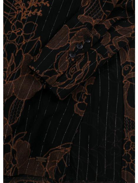 Dayz Cassie blouse jurk in luxe geweven stofje met lurex CASSIE BLACK large