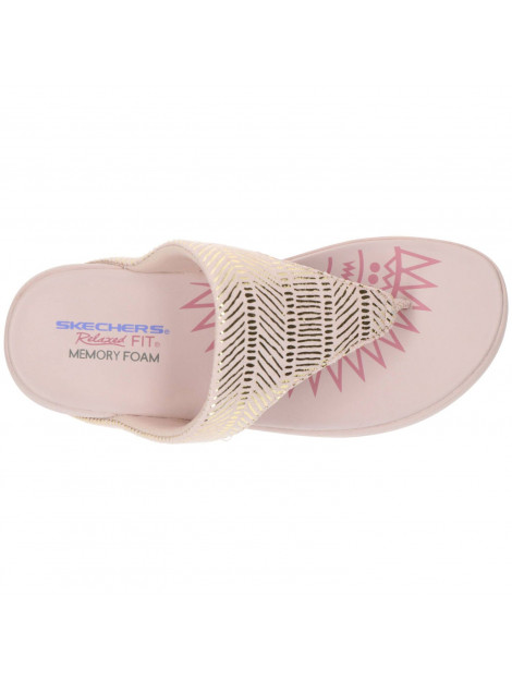 Skechers Memory foam slipper roze 163036 large