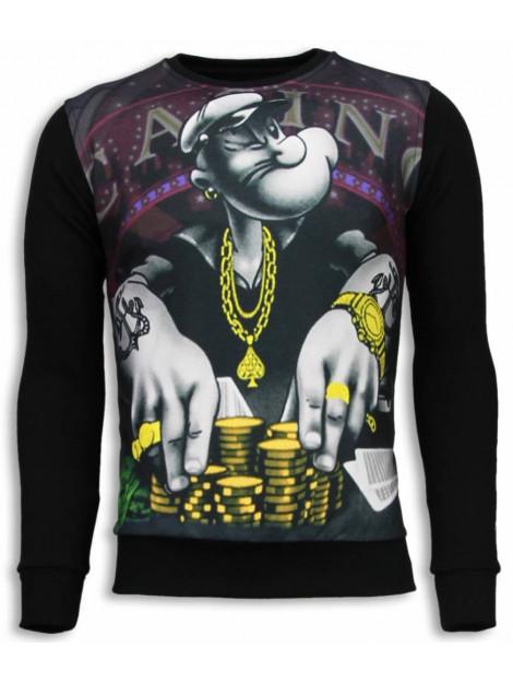 Local Fanatic Casino popeye sweater 5794Z large