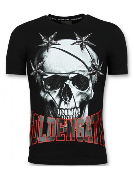 Enos T-shirts glitter shirt F-572 large