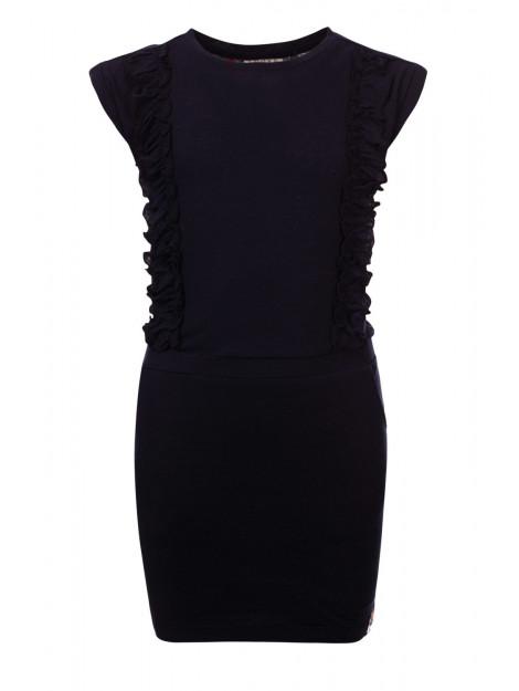 Looxs Revolution Linnen jurkje voor meisjes in de kleur 2012-5839-190190128 large