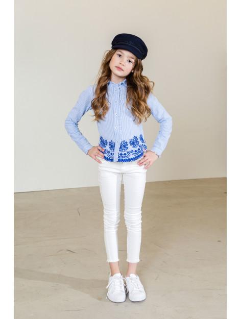 Looxs Revolution Witte skinny-fit denim voor meisjes in de kleur 2012-5656-001001116 large