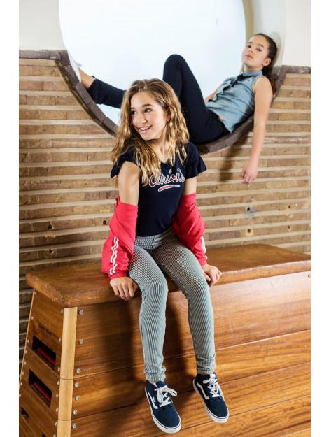 Looxs Revolution Linnen t-shirt voor meisjes in de kleur 2012-5439-190190176 large