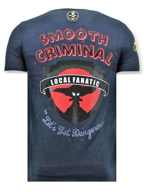 Local Fanatic T-shirt crime empire 11-6389B large