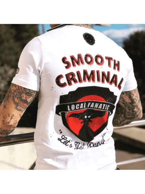 Local Fanatic T-shirt crime empire 11-6389W large