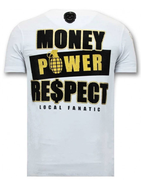 Local Fanatic T-shirt cosa nostra mafioso 11-6371W large