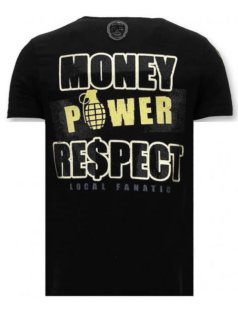 Local Fanatic T-shirt cosa nostra mafioso 11-6371Z large