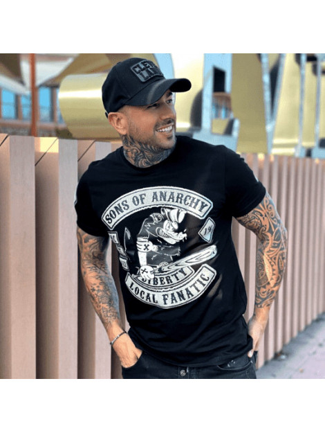 Local Fanatic T-shirt met opdruk sons of anarchy 11-6369Z large