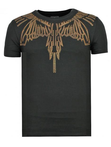 Local Fanatic Eagle glitter fun t-shirt 11-6359Z large