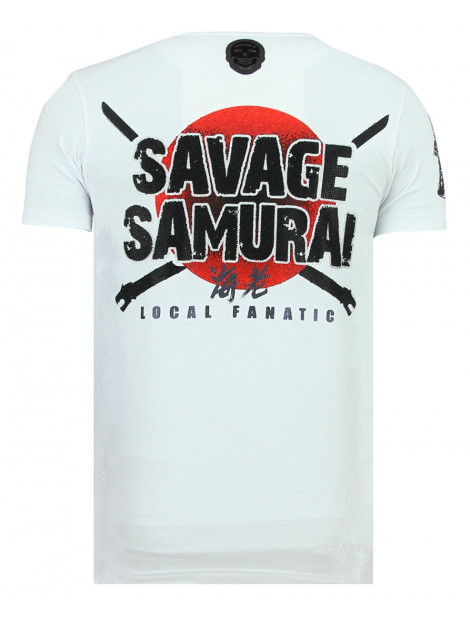 Local Fanatic Savage samurai t-shirt 11-6327W large