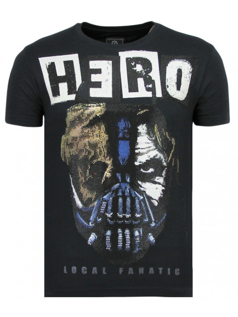 Local Fanatic Hero mask carnaval t-shirt 11-6323N large
