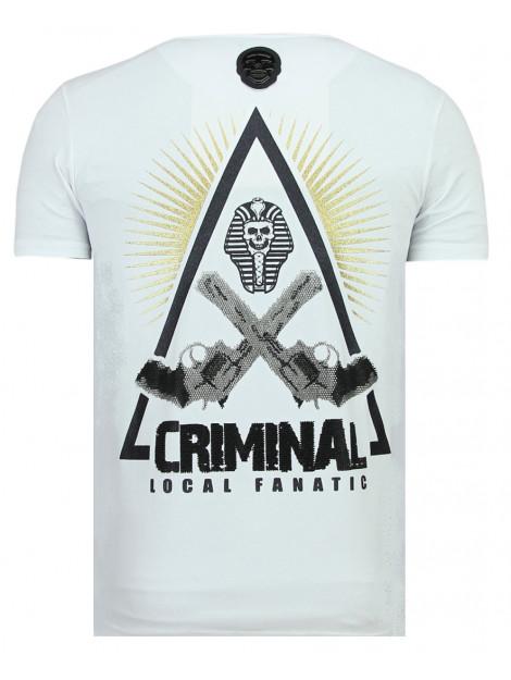 Local Fanatic Rebel pharaoh t-shirt 11-6322W large