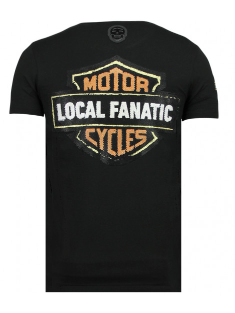 Local Fanatic Dynamite coyote bedrukte t-shirt 11-6320Z large