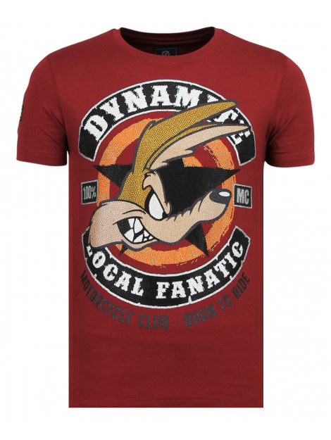 Local Fanatic Dynamite coyote party t-shirt 11-6320B large