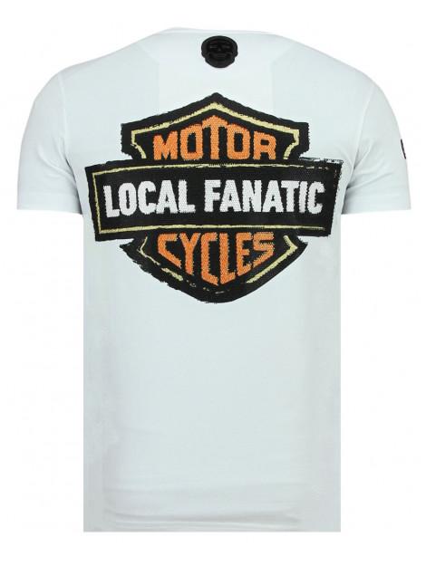 Local Fanatic Dynamite coyote leuke t-shirt 11-6320W large