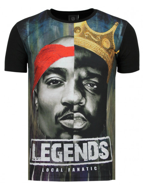 Local Fanatic Christopher notorious t-shirt 2pac legends 11-6285 large
