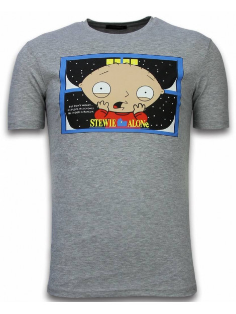 Local Fanatic Stewie home alone t-shirt 6226Gr large