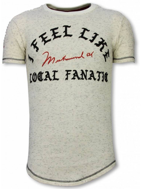 Local Fanatic Longfit t-shirt i feel like muhammad LF-105/1B large