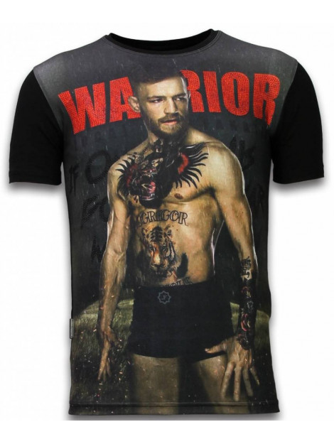 Local Fanatic Mcgregor warrior digital rhinestone t-shirt 11-6283Z large