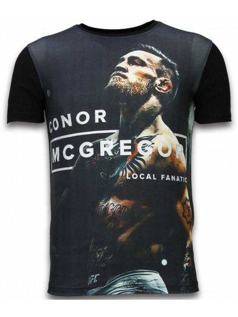 Local Fanatic Mcgregor cocks digital rhinestone t-shirt 11-6273Z large