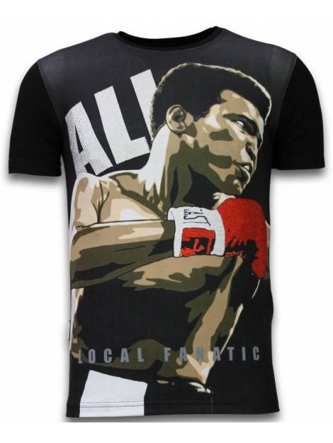 Local Fanatic Muhammad ali digital rhinestone t-shirt 11-6257Z large