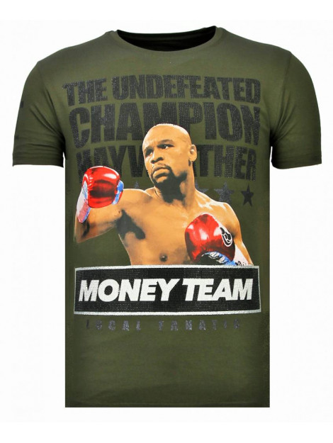 Local Fanatic Money team champ rhinestone t-shirt 13-6237K large