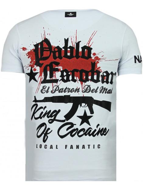 Local Fanatic El patron pablo rhinestone t-shirt 13-6236W large