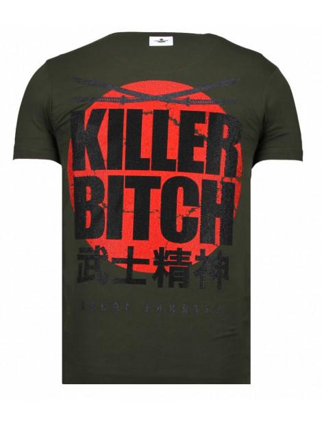 Local Fanatic Killer bitch rhinestone t-shirt 13-6235K large