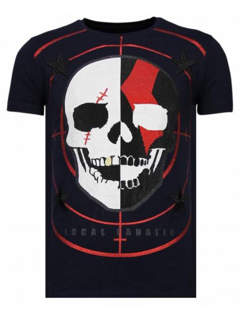 Local Fanatic God of war rhinestone t-shirt 13-6231N large