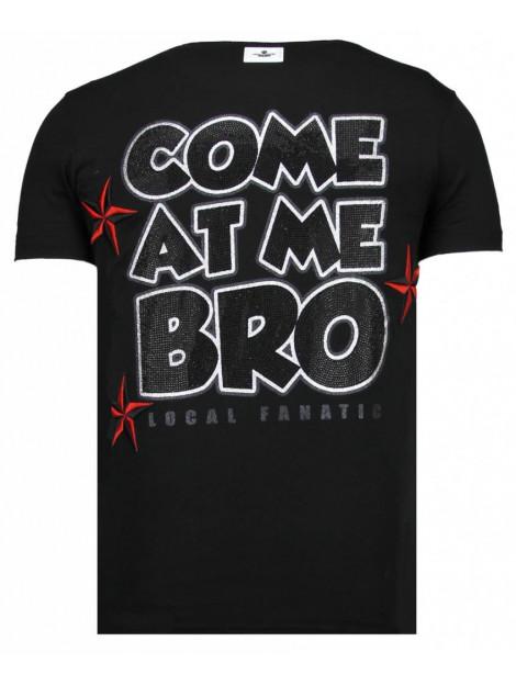 Local Fanatic Fight club spike rhinestone t-shirt 13-6230Z large