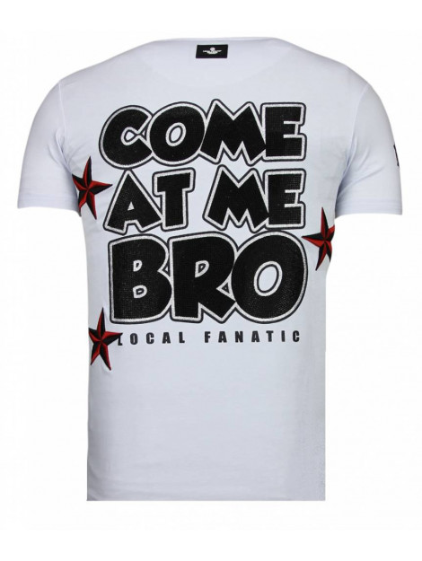 Local Fanatic Fight club spike rhinestone t-shirt 13-6230W large