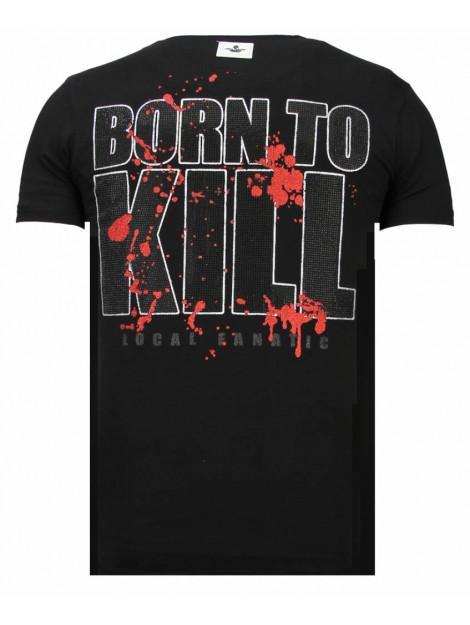 Local Fanatic Killer bunny rhinestone t-shirt 13-6229Z large