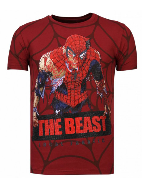 Local Fanatic The beast spider rhinestone t-shirt 13-6228B large