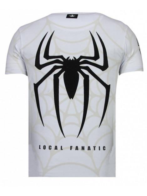 Local Fanatic The beast spider rhinestone t-shirt 13-6228W large