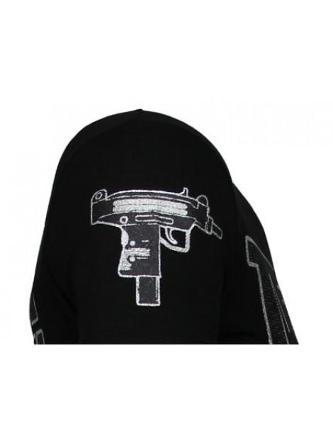 Local Fanatic Terror panda rhinestone t-shirt 13-6227Z large