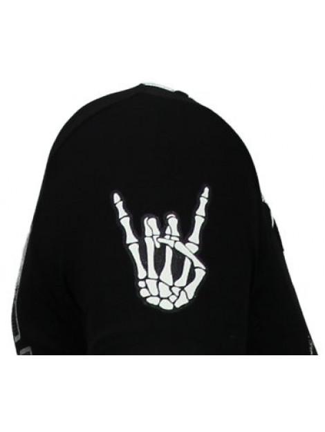 Local Fanatic Hellboy rhinestone t-shirt 13-6226Z large