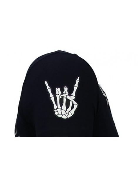 Local Fanatic Hellboy rhinestone t-shirt 13-6226N large