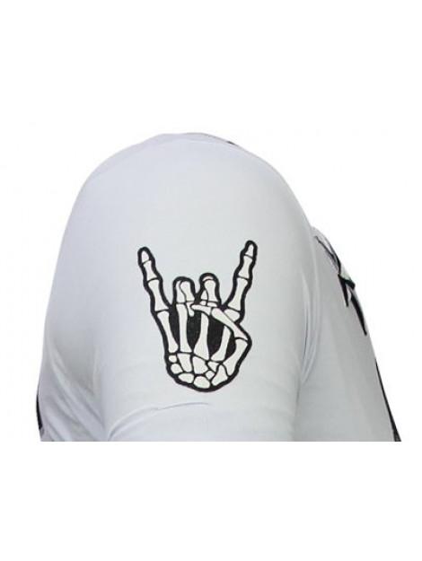 Local Fanatic Hellboy rhinestone t-shirt 13-6226W large