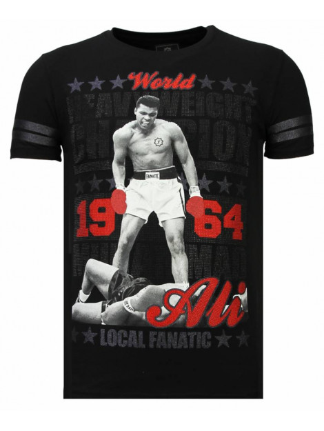 Local Fanatic Greatest of all time rhinestone t-shirt 13-6215Z large