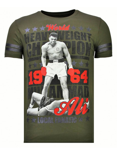 Local Fanatic Greatest of all time rhinestone t-shirt 13-6215K large